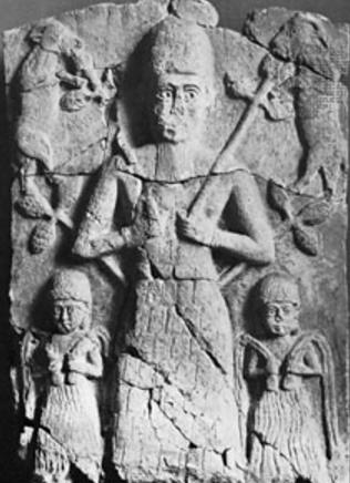 Relieve mesopotámico de Dummuzi-Tammuz
