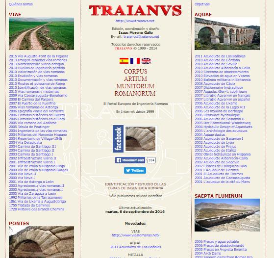 Captura de pantalla de este gran directorio web