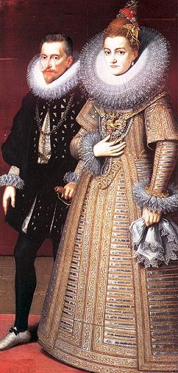 El archiduque Alberto y la infanta Isabel, soberanos de los Países Bajos durante la Tregua de los Doce Años