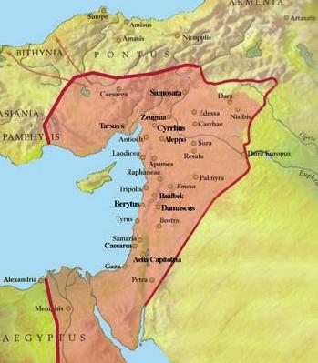 El imperio de Palmira durante el gobierno de la reina Zenobia