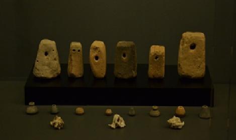 Pondos (arriba) y fuseyolas (abajo) (fuente: Ayuntamiento de Elche)