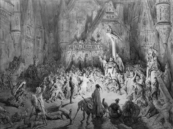 Representación de la Corte de los Milagros de París