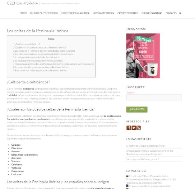 Captura de pantalla de este gran blog sobre los celtibéricos