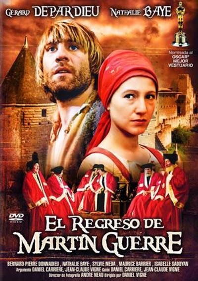 Cartel de la película que se hizo del libro, con Gerard Depardieu como protagonista