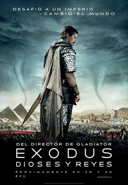 """Cartel de la película """"Exodus. Dioses y reyes"""""""