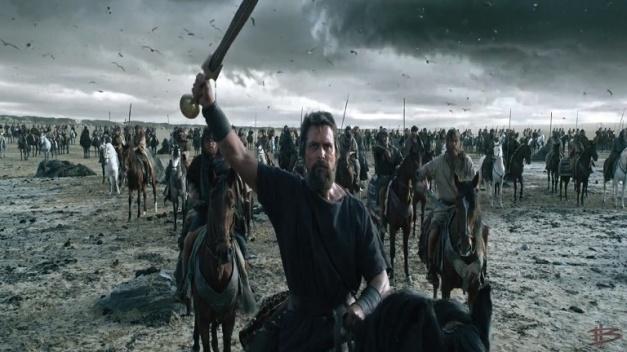 Una de las escenas de la película, durante el éxodo dirigido por el Moisés de Christian Bale