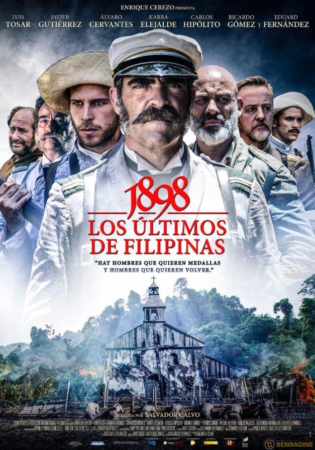 """Cartel de la película """"1898: los últimos de Filipinas"""""""