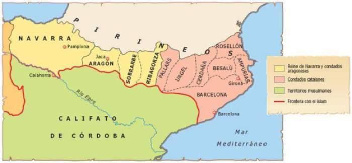 Resultado de imagen de condados catalanes