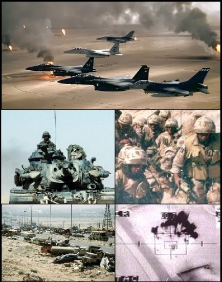 Algunas fotografías de la Guerra del Golfo