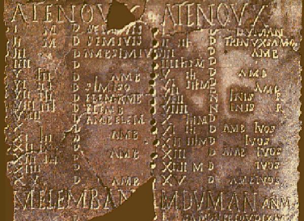 Calendario Coligny, el calendario celta, clave en el origen histórico de Halloween