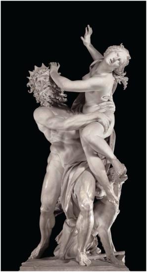 """El rapto de Proserpina"" por Gian Lorenzo Bernini"