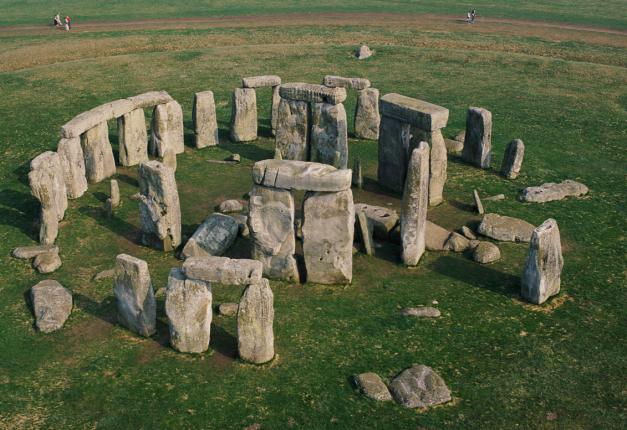 Vista general de Stonehenge