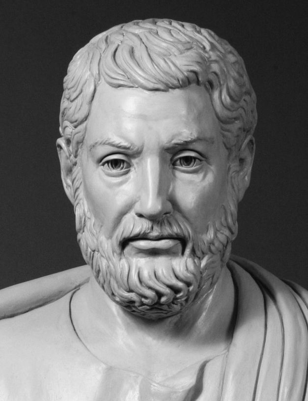 Busto de Clístenes hecho en la actualidad